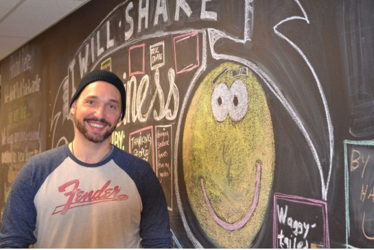 John Stix, courtesy of Sara Mojtehedzadeh/Toronto Star