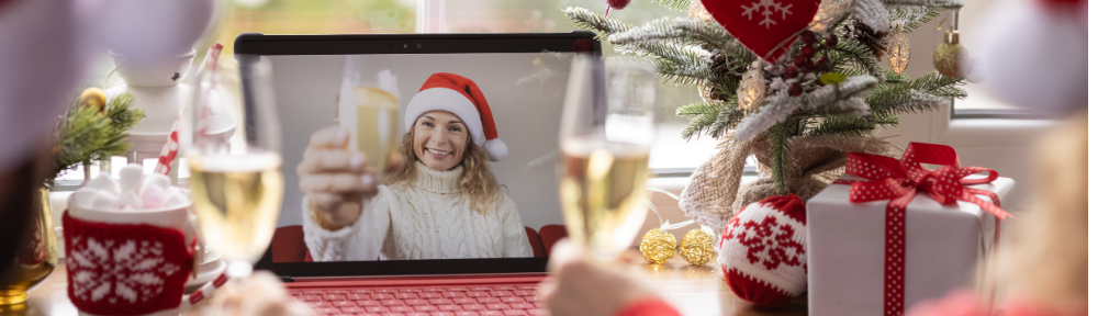 online holiday party