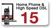 Home Phone and High Speed DSL 15