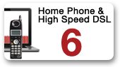 Home Phone and High Speed DSL 6